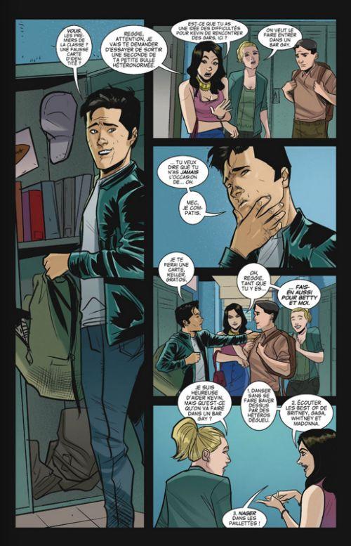 Les Chroniques de Riverdale T2, comics chez Glénat de Aguirre-Sacasa, Eisma, Szymanowicz