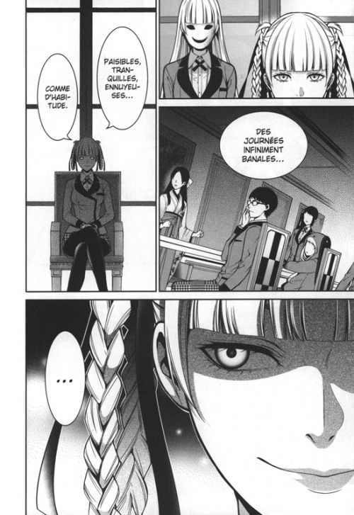 Gambling school twin T5, manga chez Soleil de Kawamoto, Saiki