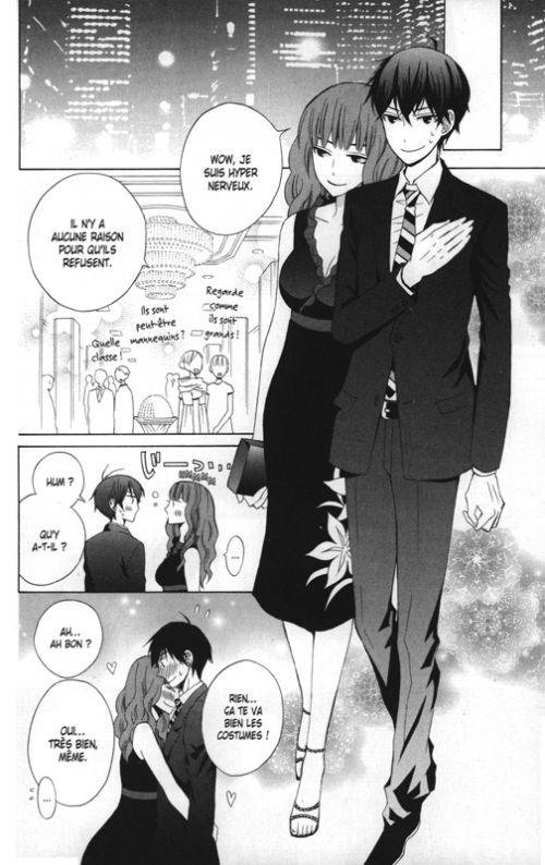 Switch love T3, manga chez Delcourt Tonkam de Ogura