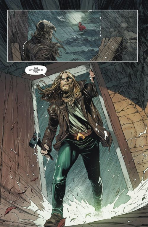 Arthur Curry : Aquaman, comics chez Urban Comics de Deconnick, Rocha, Cho