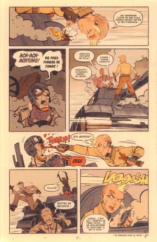 World War Tank Girl, comics chez Ankama de Martin, Parson, Wahl