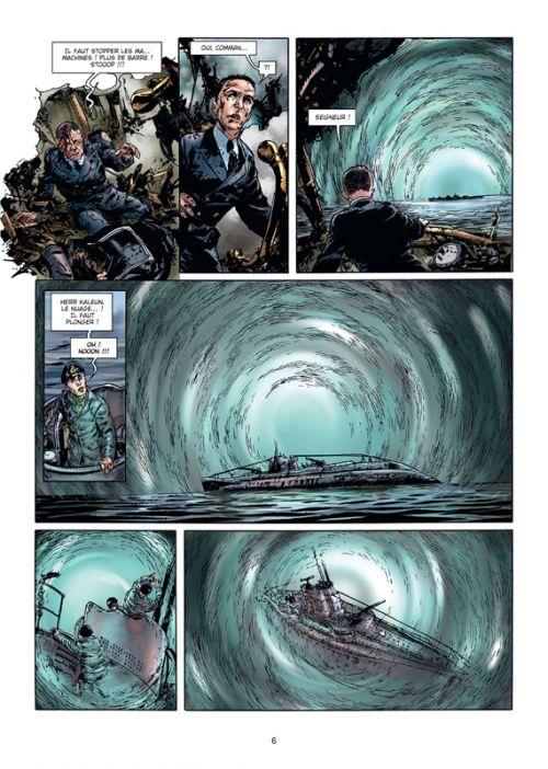 Wunderwaffen Missions secrètes T1 : Le U-boot fantôme (0), bd chez Soleil de Richard D.Nolane, Vicanovic-Maza, Desko, Miljic