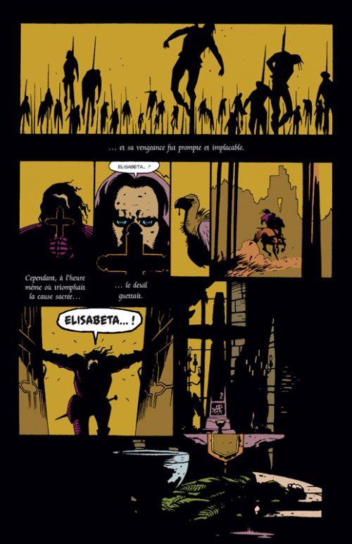 Dracula d'après Bram Stoker, comics chez Delcourt de Thomas, Mignola, Nyberg, Chiarello