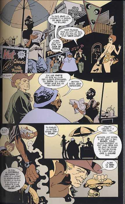 100 Bullets – Edition Softcover, T2 : Split second chance (0), comics chez Semic de Azzarello, Risso, Goleash, Johnson