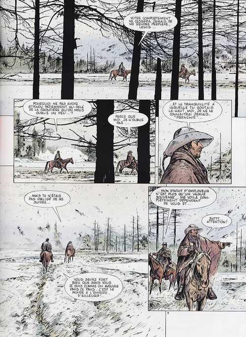 Black Hills T3 : La grande Blessure (0), bd chez Glénat de Swolfs, Marc-Rénier, Bastin