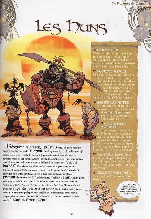 Krän le barbare T6 : L'encyclopédie de Krän (0), bd chez Vents d'Ouest de Clerc, Hérenguel, El Rico, Marie, Vanderstraeten