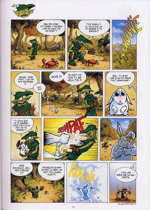 Goblins T2 : En vérité et contre tous (0), bd chez Soleil de Roulot, Martinage, Esteban