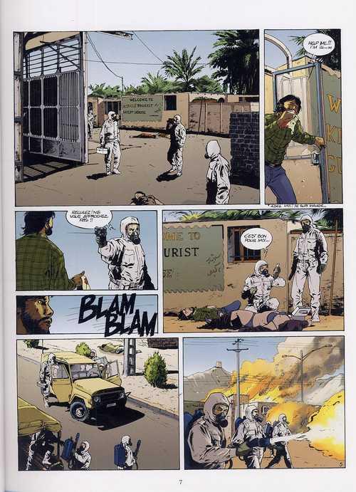 T.N.O. T2 : Ebola (0), bd chez Glénat de Bartoll, Bonnet, Kness