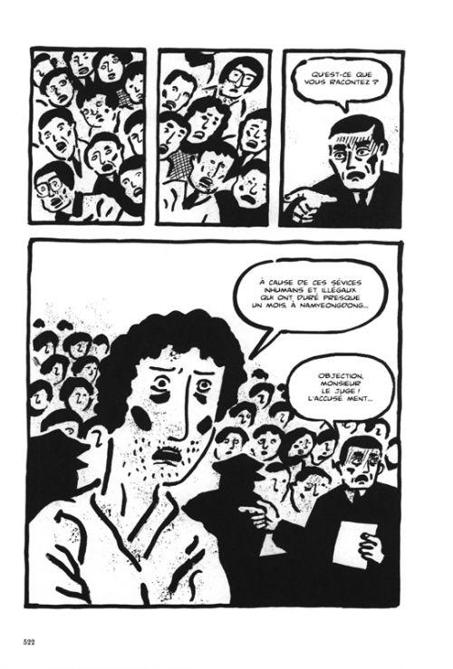 Traité comme une bête : Compte rendu des 22 jours de captivité de Kim Keun-Tae (0), manga chez La boîte à bulles de Kun-Wong