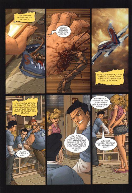 Army of Darkness T2 : Shop till you drop dead (0), comics chez Editions Réflexions de Hartnell, Bradshaw, Greene, Kester, Charalampidis, St Laurent