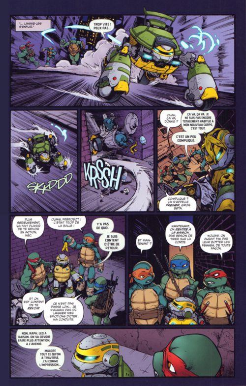 Les Tortues Ninja - TMNT - Teenage Mutant Ninja Turtles T8 : Vengeance - Première partie (0), comics chez Hi Comics de Waltz, Eastman, Curnow, Duncan, Wilson III, Santolouco, Pattison
