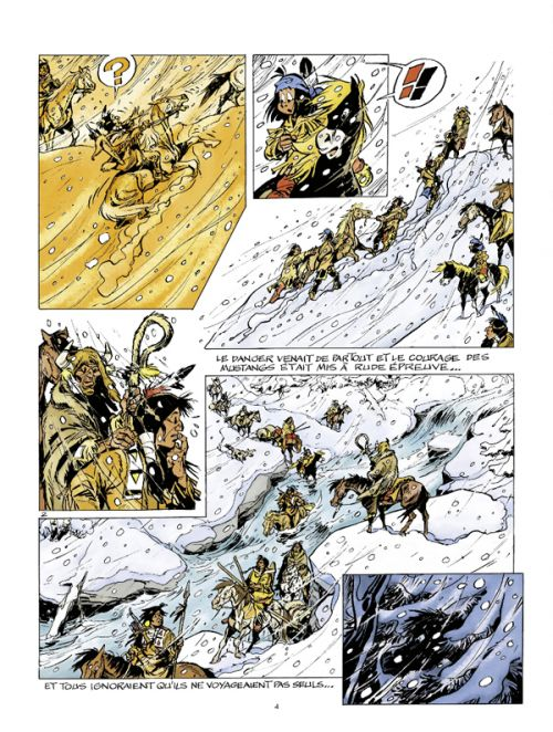 Yakari T40 : L'esprit des chevaux (0), bd chez Le Lombard de Chamblain, Derib, Paulovitch