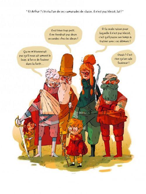 La Famille Vieillepierre T1 : Arthur et la corde d'or (0), bd chez Sarbacane de Todd