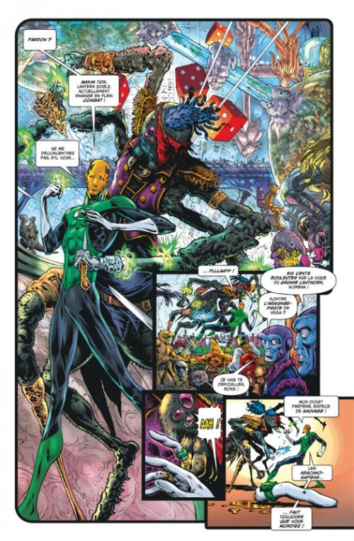 Hal Jordan : Green Lantern  T1, comics chez Urban Comics de Morrison, Sharp, Oliff