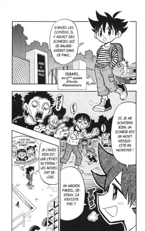 Zozo zombie T1, manga chez Vega de Nagatoshi