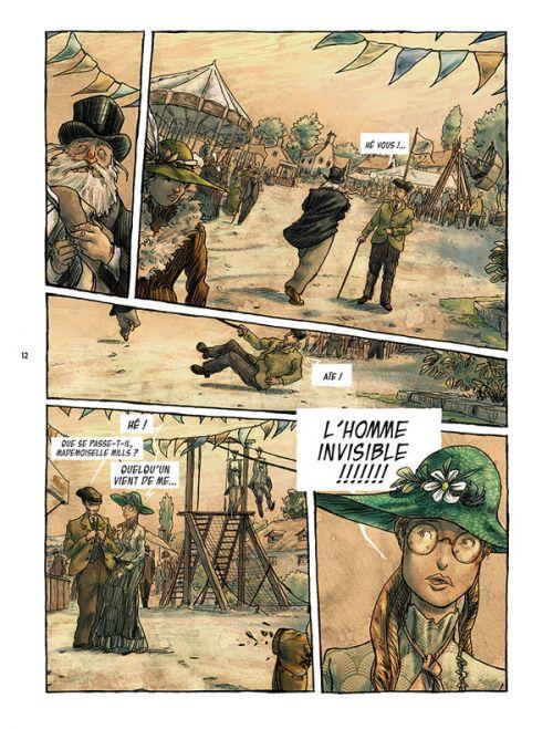L'Homme invisible T2, bd chez Les éditions du Long Bec de Pontarolo