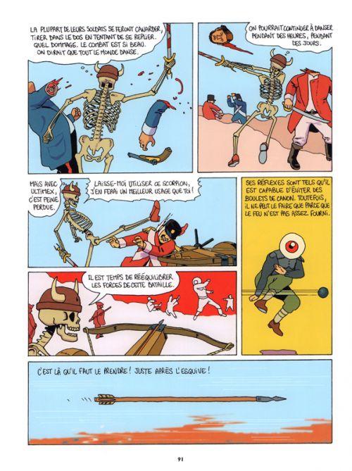 Ultimex en enfer T2 : L'enfer est pavé de mauvaises intentions (0), bd chez Vraoum! de Gad