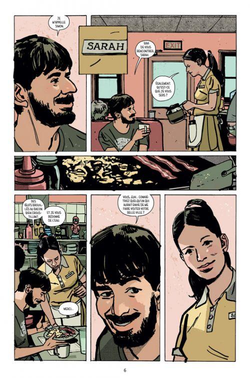 Outcast T7 : L'emprise des ténèbres (0), comics chez Delcourt de Kirkman, Azaceta, Breitweiser