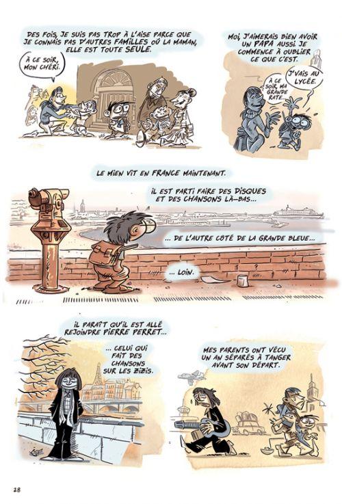 Sur la vie de ma mère T1 : Les migrateurs (0), bd chez La boîte à bulles de Gaston, Favantines