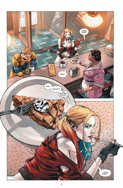 Heroes in crisis, comics chez Urban Comics de King, Gerads, Mann, Moore, Weeks, Fornès, Morey, Prianto