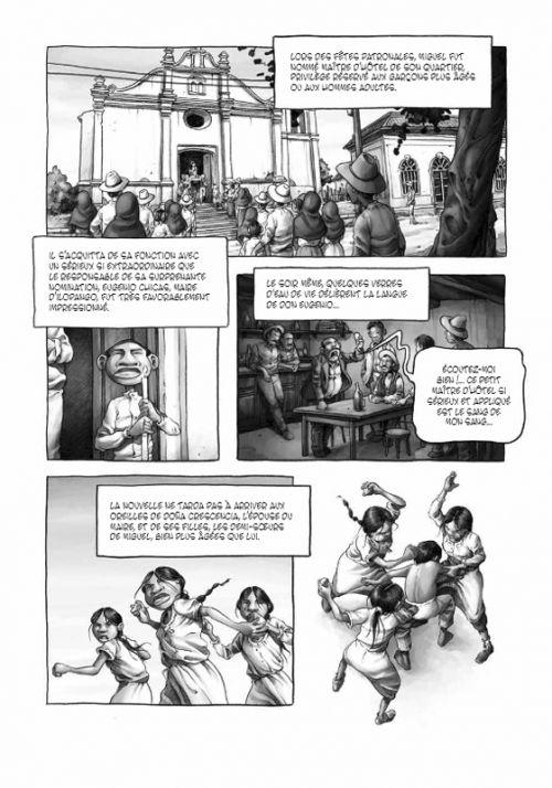 Douze naissances de Miguel Marmol, bd chez Rackham de Fano