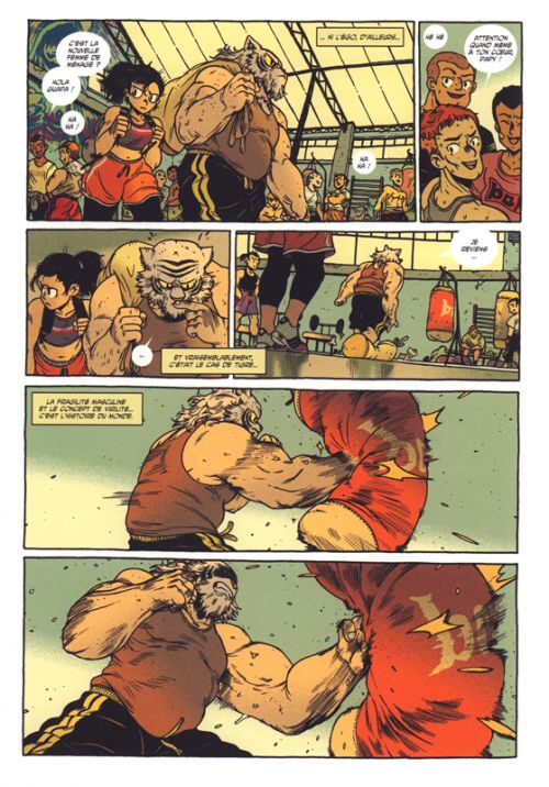 Loba Loca T2, comics chez Ankama de Run, Singelin