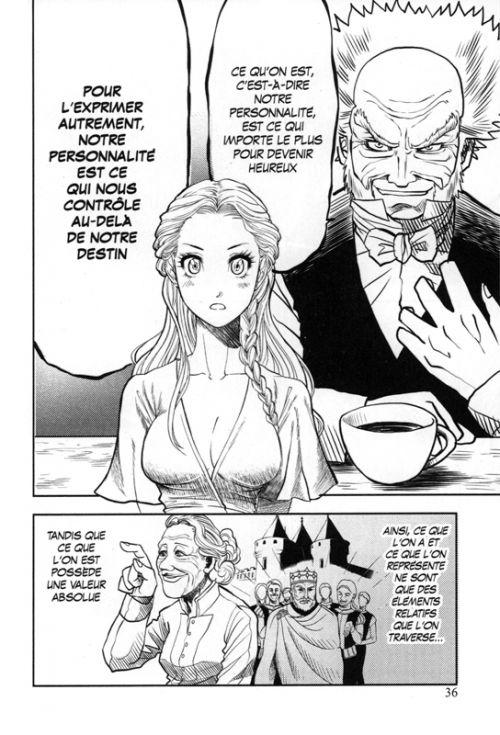 Aphorismes sur la sagesse, manga chez Kurokawa de Schopenhauer, Team Banmikas