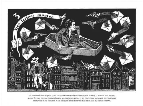 Nick Carter et André Breton : Une enquête surréaliste (0), bd chez Soleil de David B.