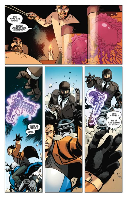 Strangelands T1 : Amour + Chaos (0), comics chez Les Humanoïdes Associés de Badger, Visaggio, Sanna, Valenza, Mckone