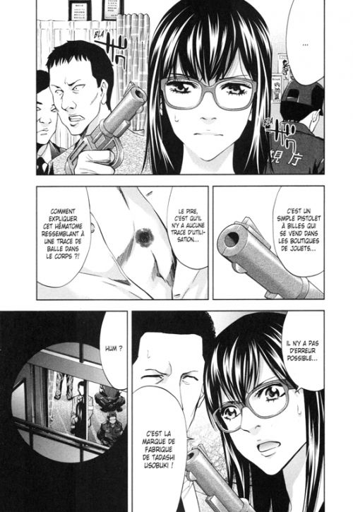 Perfect crime T9, manga chez Delcourt Tonkam de Miyatsuki, Kanzaki