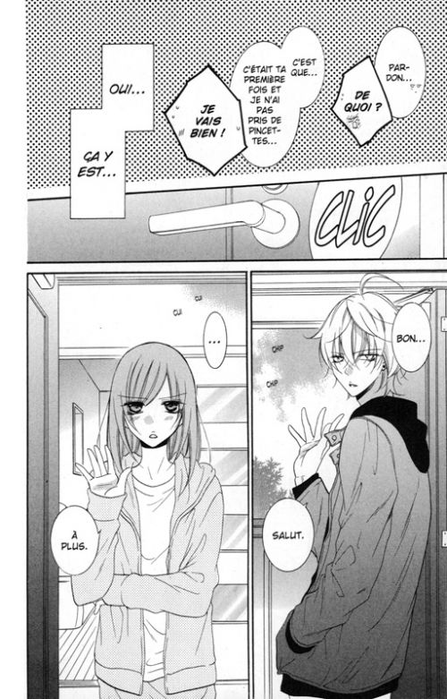Cheeky love T13, manga chez Delcourt Tonkam de Mitsubachi