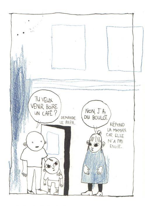 Un Enfant comme ça, bd chez La boîte à bulles de Bréda