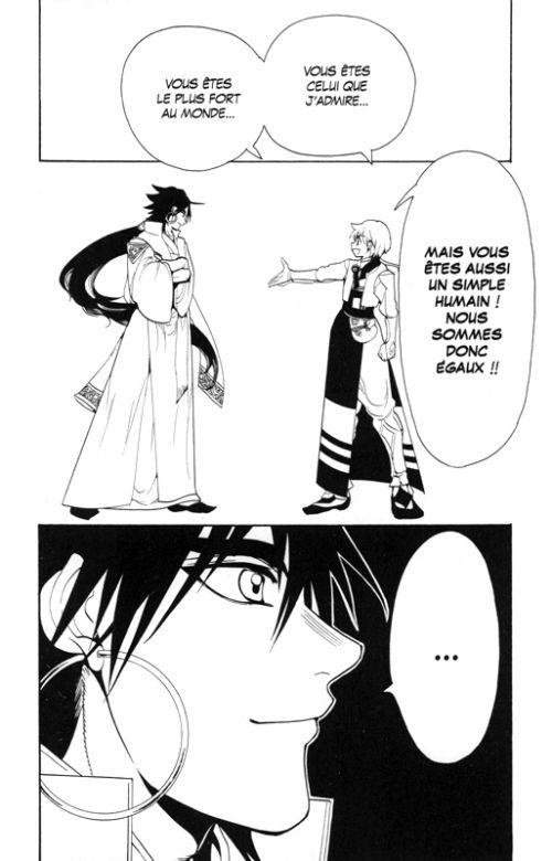 Magi, the labyrinth of magic  T34, manga chez Kurokawa de Ohtaka