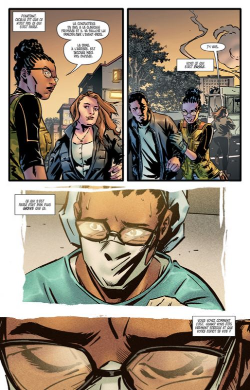 Omni, comics chez Les Humanoïdes Associés de Grayson, Martinez, Valenza, Johnson