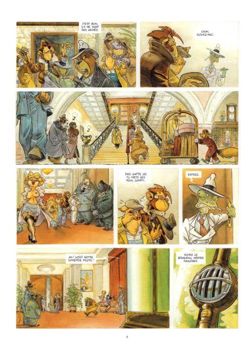 Les Ailes du singe T3 : Chicago (0), bd chez Paquet de Willem