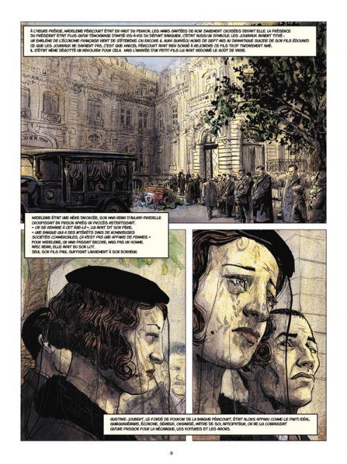 Couleurs de l'incendie, bd chez Rue de Sèvres de de Metter