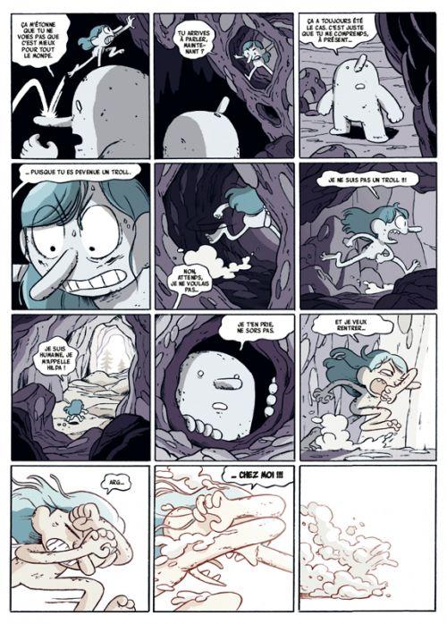Hilda T6 : Le Roi de la montagne (0), comics chez Casterman de Pearson