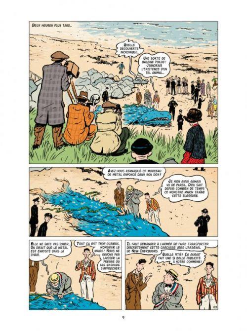 New Cherbourg Stories T1 : Le monstre de Querqueville (0), bd chez Casterman de Gabus, Reutimann