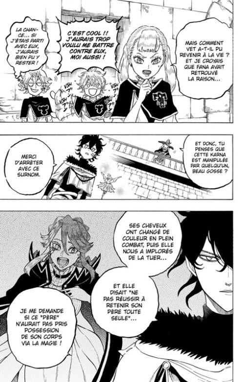 Black clover - Quartet Knights T2, manga chez Kazé manga de Tashiro