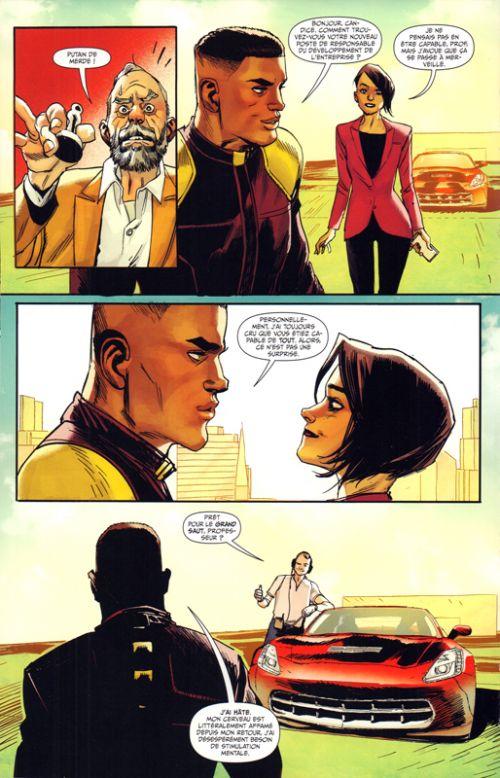 Prodigy T1 : La terre maléfique (0), comics chez Panini Comics de Millar, Albuquerque