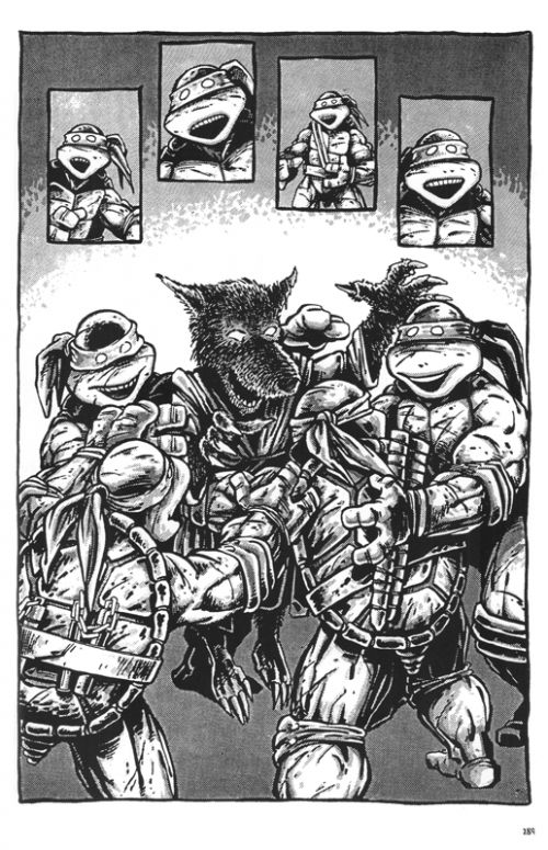 Teenage Mutant Ninja Turtles Classics T1 : Les Origines (0), comics chez Hi Comics de Laird, Eastman