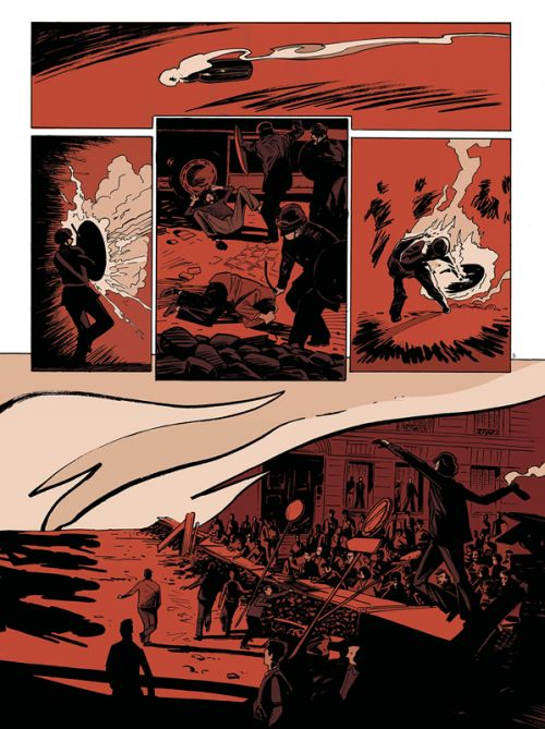 Les Années rouge & noir T4 : 1968-1974 Simone (0), bd chez Les arènes de Convard, Boisserie, Douay, Galopin