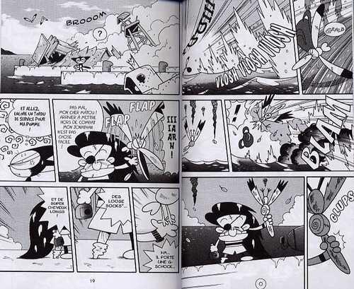 Cyborg Kurochan T2, manga chez Pika de Yokouchi
