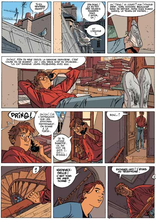 Jérôme K. Jérôme Bloche T17 : La marionnette (0), bd chez Dupuis de Dodier