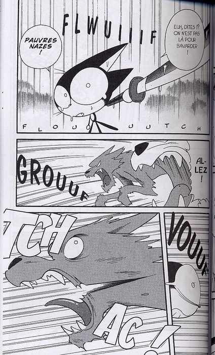 Cyborg Kurochan T11, manga chez Pika de Yokouchi
