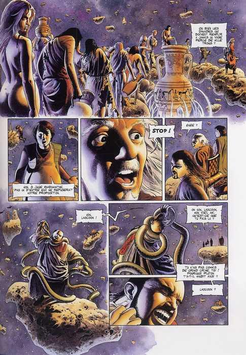 Le dernier troyen T5 : Au-delà du Styx (0), bd chez Soleil de Mangin, Demarez
