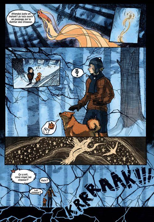 Un Rêve de renard, comics chez Akileos de Sundberg