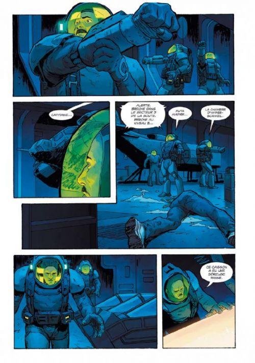 Alien 3, comics chez Vestron de Gibson, Christmas, Bonvillain