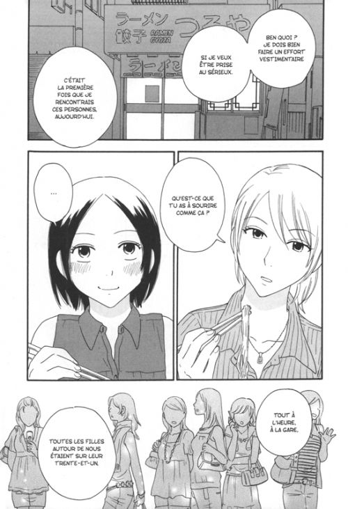 Octave T2, manga chez Taïfu comics de Akiyama