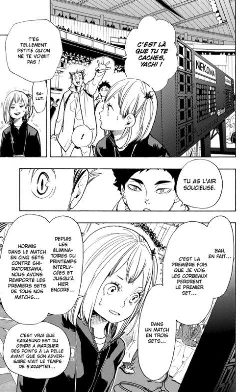 Haikyû, les as du volley T35, manga chez Kazé manga de Furudate